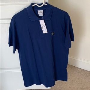 Lacoste blue polo brand new with tags